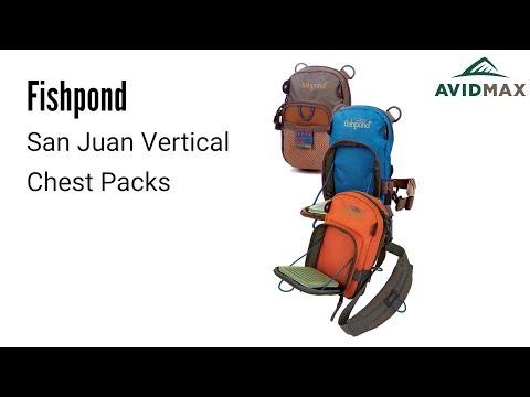 Fishpond San Juan Vertical Chest Packs Review | AvidMax