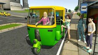 Tuk Tuk City Driving Simulator 2020 Android Gameplay||Top Android Games screenshot 2