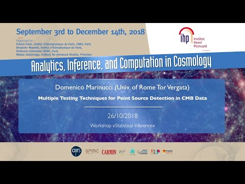 Multiple Testing Techniques for Point Source Detection (...) - Marinucci - Workshop 2 - CEB T3 2018