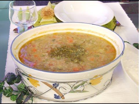 شوربة الفريكة بالخضراوات - مطبخ منال العالم
