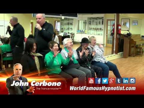 Trance-Master Comedy Hypnosis Show - Senior Center Show - 4- 17