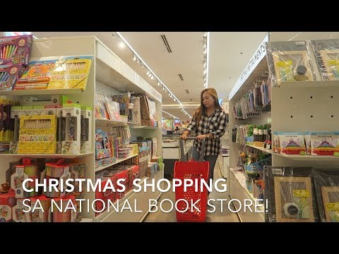 SHOPPING SA NATIONAL BOOK STORE! - anneclutzVLOGS