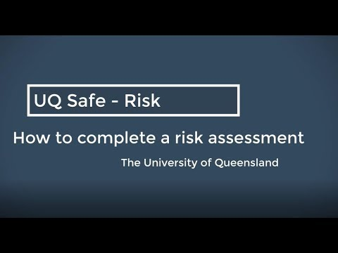 Health and safety risk assessments - Current staff