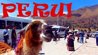 An Ultimate Adventure in PERU: Canyons, Condors, Llamas & Hot Springs!