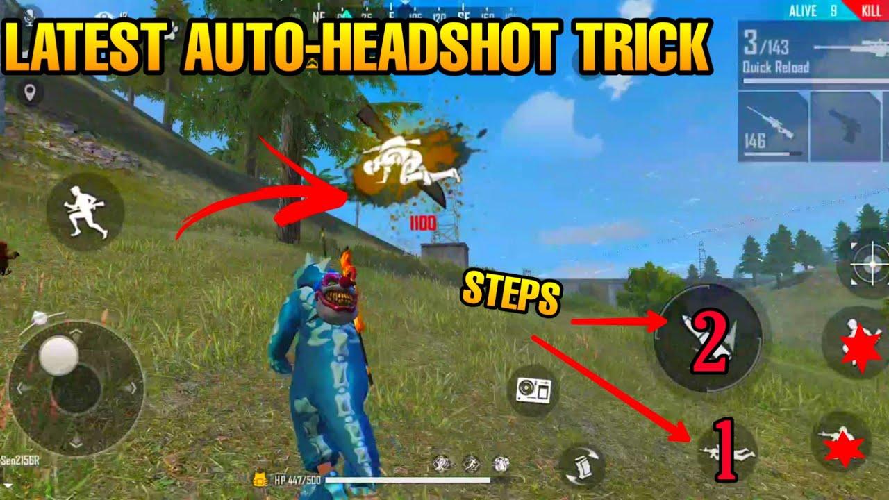 Auto Headshot Latest Trick Bug Hack Free Fire 2020 Youtube