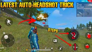 AUTO-HEADSHOT LATEST TRICK/BUG/HACK? FREE FIRE-2020