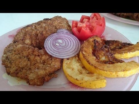 Шницель рецепт блюда из мяса свинины как приготовить вкусно и быстро на ужин