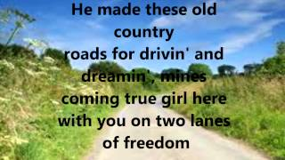 Watch Tim McGraw Two Lanes Of Freedom video