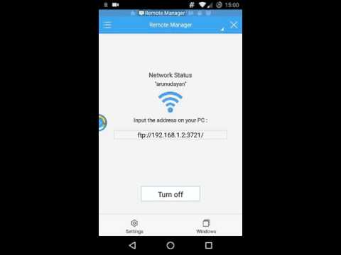 Set Up FTP Server On Android Phone
