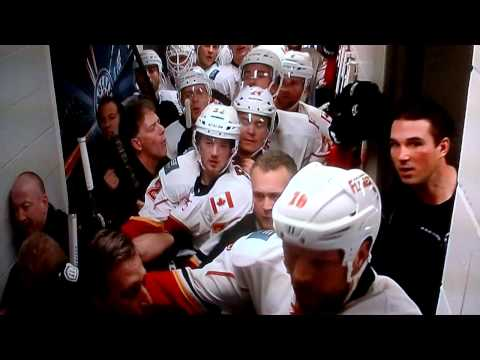 NHL Canucks coach Tortorella going nuts on Flames