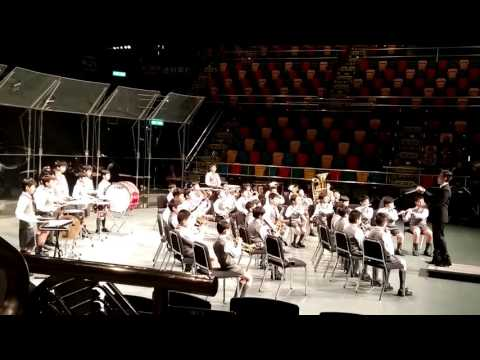 SJPS Wind Band @ HK Youth Music Interflows 2015