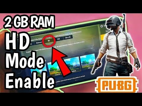 Download How To Enable Hd Hdr Mode On Pubg For 1 Gb And 2 Gb Ram
