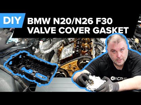 BMW F30 Valve Cover Gasket Replacement DIY (BMW N20/N26 Engine)