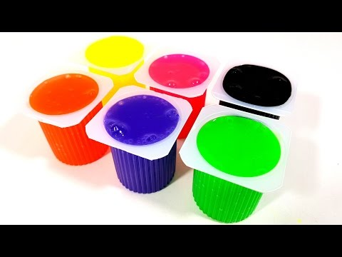 Thumbnail: Learn Colors with Yogurt Slime Clay Surprise Toys for Children