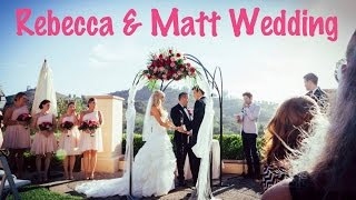 Rebecca Zamolo and Matt Yoakum Wedding Video