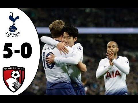 Tottenham vs Bournemouth 5-0 FULL HD 26/12/18