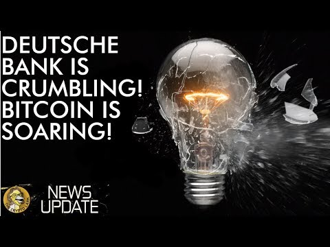 Bitcoin Price Soaring While Deutsche Bank Crumbling
