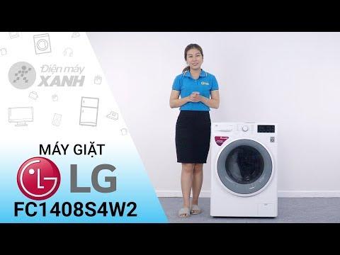 Máy giặt LG inverter 8 kg FC1408S4W2: sạch bong các vết bẩn khó tính nhất • Điện máy XANH