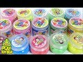 Combine All the Colors Cheese Jelly Sticky Slime Clay Orbeez Surprise Toys