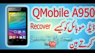 how to qmobile a950 dead recover full flashing