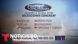 Definido hexagonal para Mundial de Rusia 2018   Noticiero   Noticias Telemundo