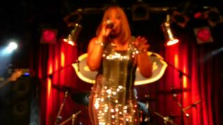 Nancey Jackson Johnson at B.B. Kings in NYC