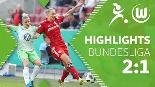 FC Bayern München - VfL Wolfsburg Frauen | Highlights | Bundesliga