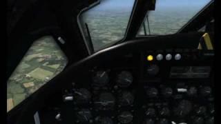 FSX Vulcan B2 bomber test flight