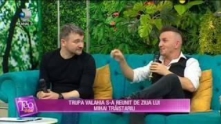 Teo Show (08.11.2019) - Trupa VALAHIA s-a reunit de ziua lui Mihai Traistariu! EXCLUSIVITATE!