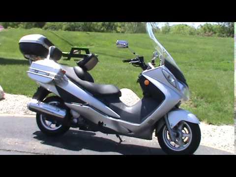 2003       Suzuki       Burgman       400     YouTube