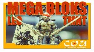 MEGA BLOKS / CONSTRUX | Teenage Mutant Ninja Turtles Leonardo | Eastman & Laird