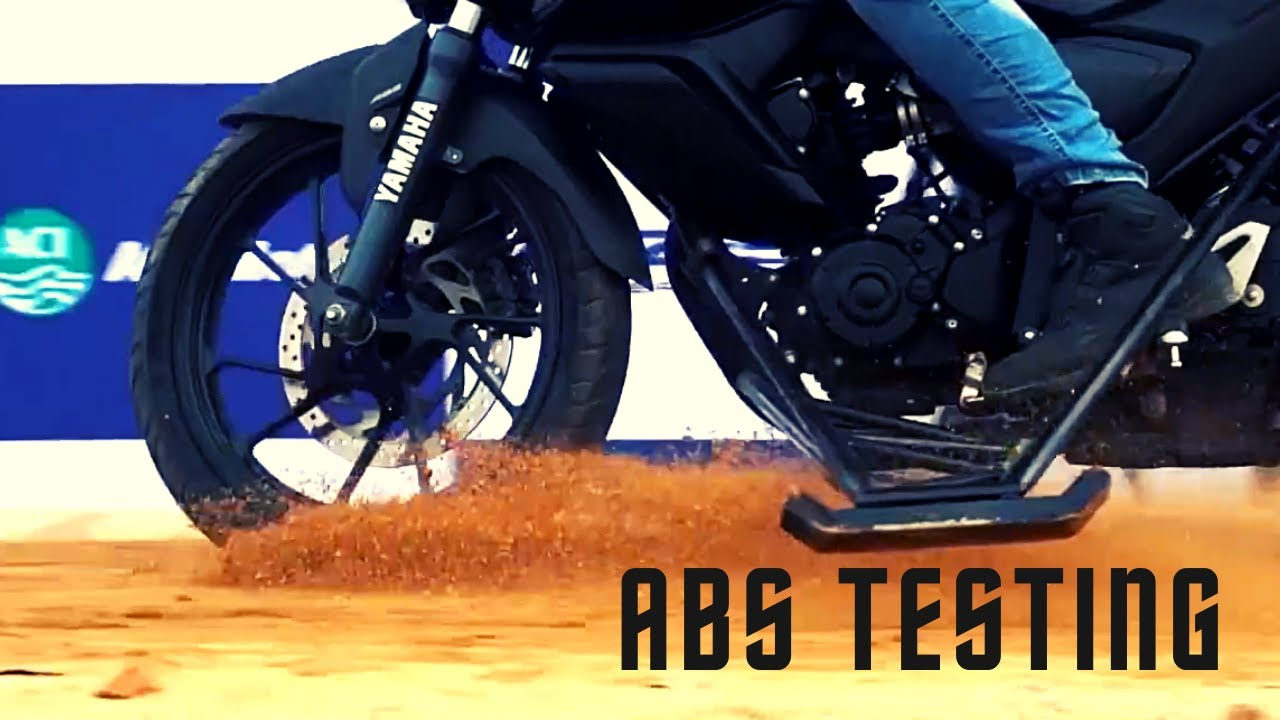 ABS feature | Extreme ABS test by Bikebd experts
