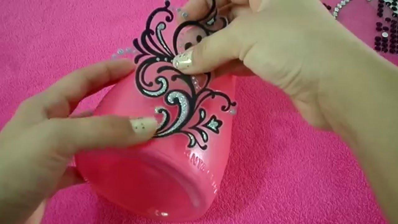 Recicla y decora con botellas por fantasticazul youtube - Recicla y decora ...