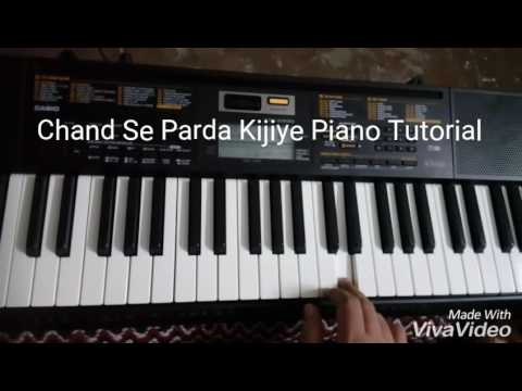 Chand Se Parda Kijiye Piano Tutorial