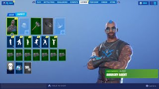 The New ANARCHY AGENT Skin Gameplay on Fortnite| Playing Custom Match Making With My Viewers