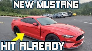 2019 Mustang GT Car Accident Within 30 Days of Ownership (2018 Mustang Week )