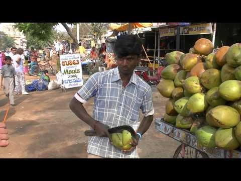 Как есть кокосы