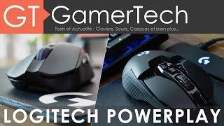 Logitech G903, G703 et Tapis PowerPlay - Le tapis qui recharge les souris sans-fil !