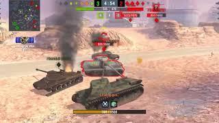 Wot Blitz- FCM 50t Ace Mastery Badge