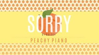Sorry - Halsey | Piano Backing Track