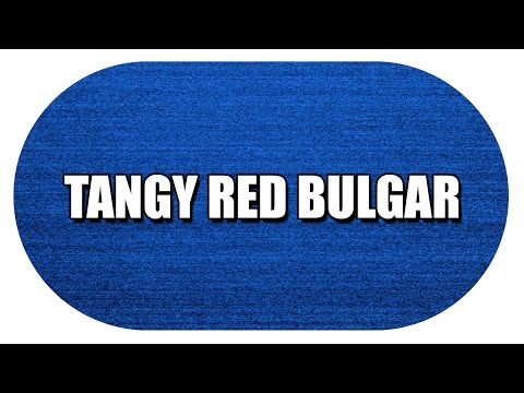 TANGY RED BULGAR - MY3 FOODS - EASY TO LEARN
