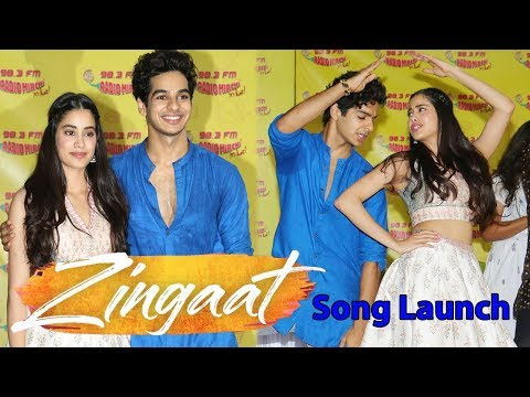 Zingaat Song Launch From Dhadak Movie | Janhvi Kapoor, Ishaan Khatter