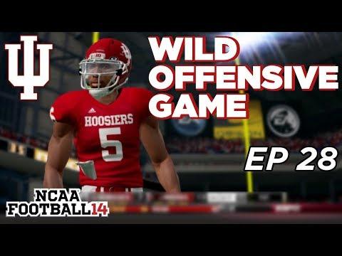 NCAA Football 14 Dynasty | Indiana Hoosiers - WILD BIG TEN CHAMPIONSHIP - Ep 28