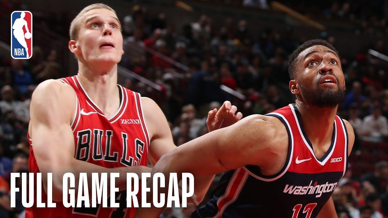 WIZARDS vs BULLS | Washington & Chicago Battle In Overtime | March 20, 2019