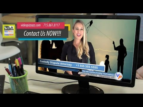 Thumbnail: Custody Attorney - Compelling VidInVid Commercial - Custody Lawyer Female Spokesperson