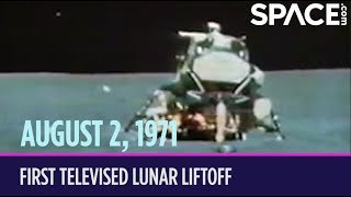 OTD in Space – August 2: Apollo 15 Makes 1st Televised Lunar Liftoff