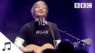 Ed Sheeran performs 'Castle On The Hill' - BBC