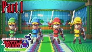 Nintendo Land - (Co-op) Legend of Zelda: Battle Quest (Part 1)