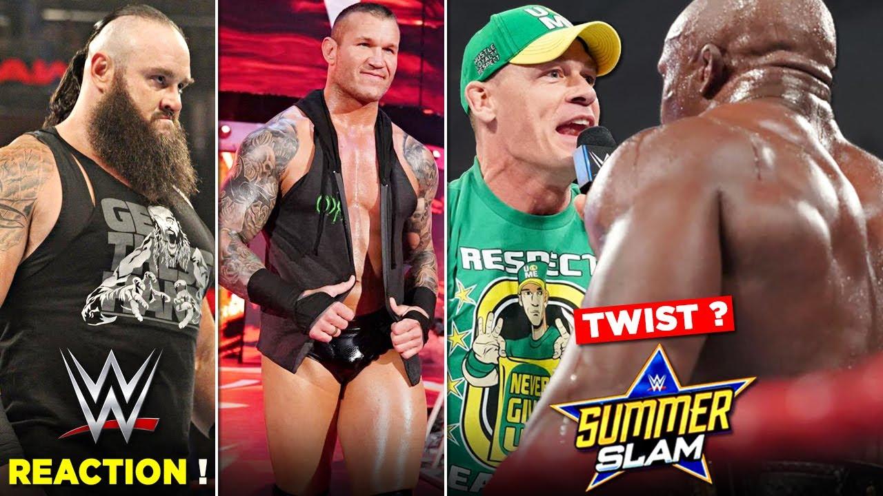 John Cena REPLACING Goldberg at Summerslam 2021 ? John Cena Vs Bobby Lashley, Randy Orton Return ?