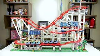 레고를 안 좋아하는 사람도 구매한다는 롤러코스터 레고(10261)